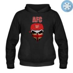 Утепленная толстовка-кенгуру Arsenal Skull
