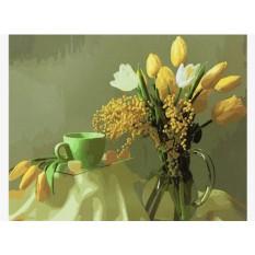 Картины по номерам «Весенний натюрморт»