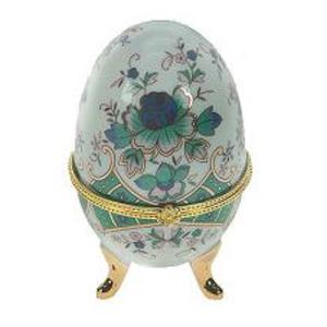 Шкатулка фарфоровая «Яйцо»
