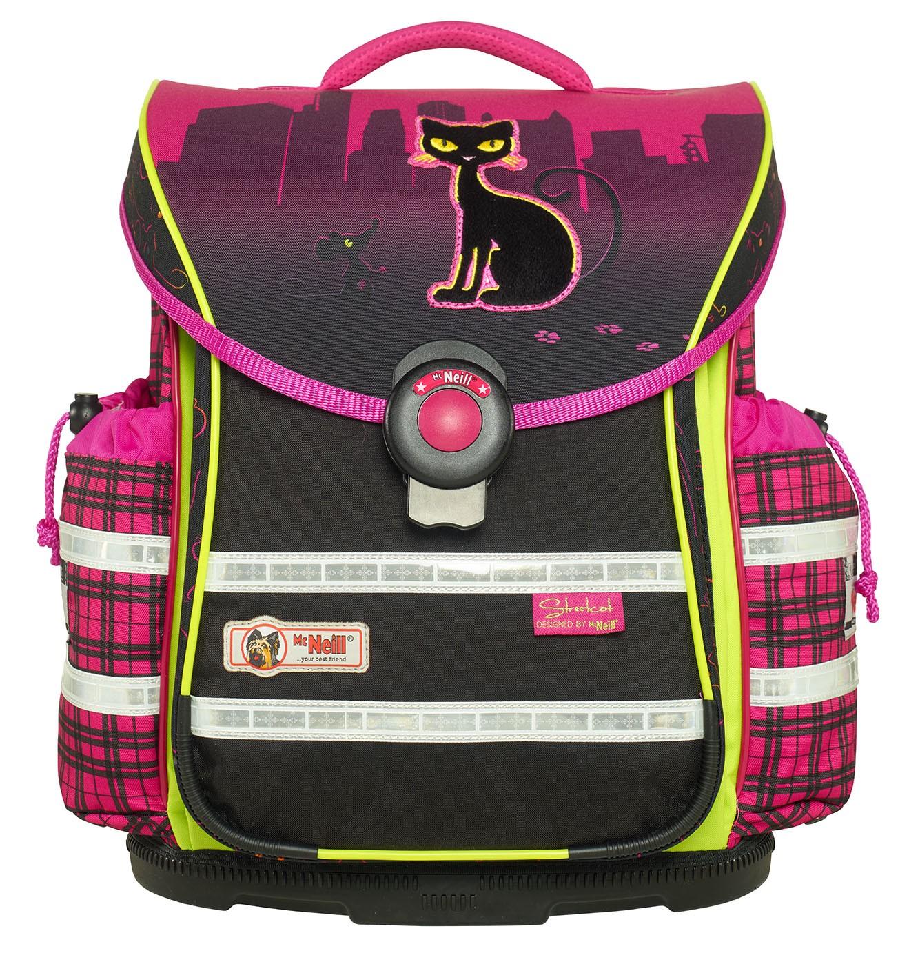 Школьный рюкзак MC Neill ERGO Light PLUS Уличный кот