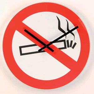 Часы «Не курить»