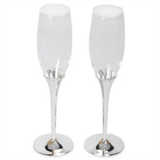 Набор из 2-х бокалов для шампанского Crystal
