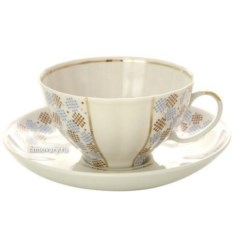 Фарфоровый чайный сервиз на 6 персон Конфетти