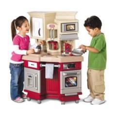 Детская кухня LittleTikes со звуковыми эффектами, красная
