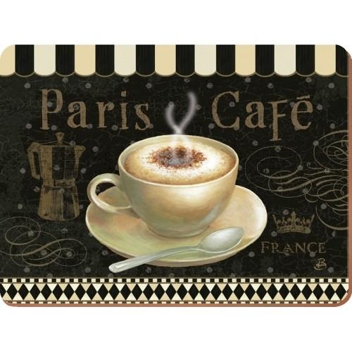 Подставки на пробке Парижское кафе (6 шт.)