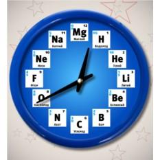 Часы «Химия»