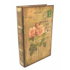 Книга-шкатулка Post Card Розы