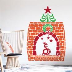 Интерьерная наклейка Рождественская идиллия 2