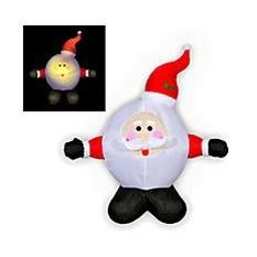 Надувная фигура Дед Мороз - Колобок