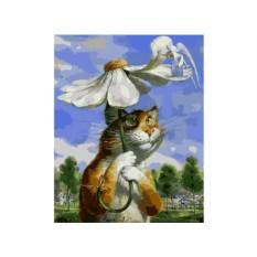 Картины по номерам Paintboy «Любит…»