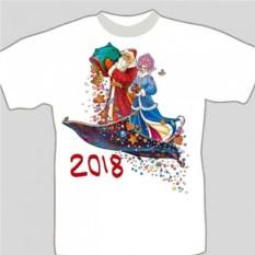 Подарочная футболка «Ковер-самолет»