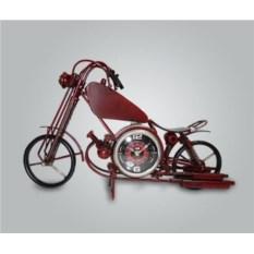 Настольные часы в виде мотоцикла