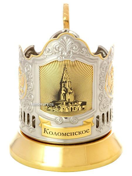 Подстаканник с позолотой Усадьбы Москвы. Коломенское