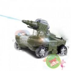 Радиоуправляемый танк-амфибия
