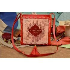 Женская сумка-планшет Elole Design Карта Мародеров