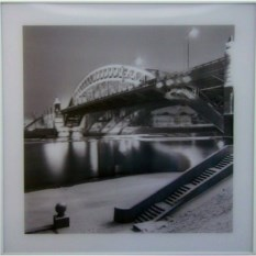 Картина Ночной мост с эффектом 3D