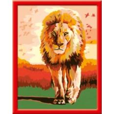Раскраска по номерам Ravensburger Гордый лев
