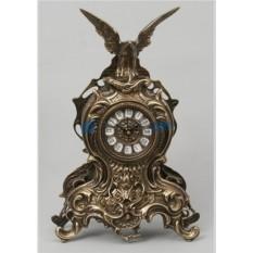 Часы из бронзы Орёл 38х25 см, цвет каштановый