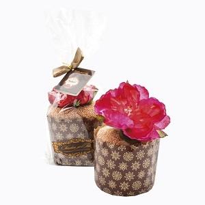 Полотенце  «Кекс «Пурпурный пион в карамели»