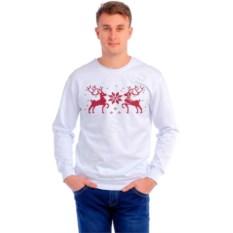 Мужская толстовка Красные два оленя