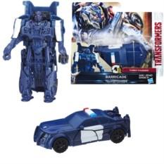 Фигурка-трансформер Transformers 5: Уан-степ Баррикейд