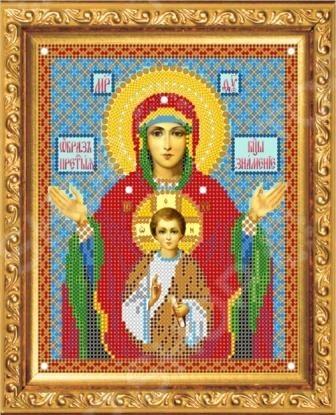 Набор для вышивания «Образ Пресвятой Богородицы. Знамение»