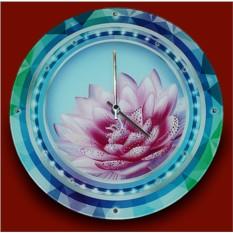 Часы с кристаллами Swarovski Лотос
