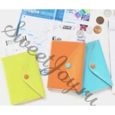 Обложка для паспорта Bright Passport, голубая
