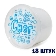 Сахарная вата «Снег» (в блоке 18 шт.)