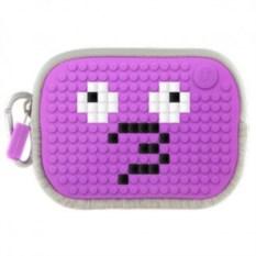 Фиолетовая пиксельная сумочка Pixel Cotton Pouch