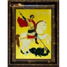 Картина Swarovski Георгий-Победоносец'', 2075 кристаллов, 30х40 см