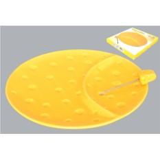 Тарелка для сыра и вилка Сыр