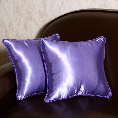 Подушки для дивана, фиолетовые (2 шт)
