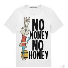 Мужская Футболка No Money No Honey