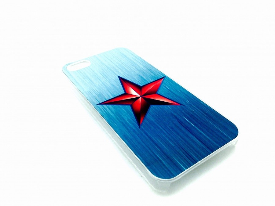 Чехол для iPhone Звезда красная