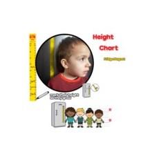 Магнитный ростомер Height Chart