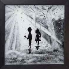 Картина Swarovski Свет любви