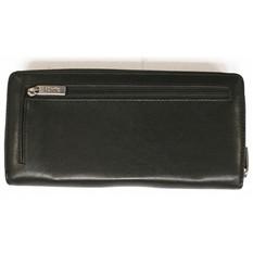 Женское портмоне Лугано, черное