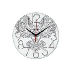 Часы-раскраска Сова