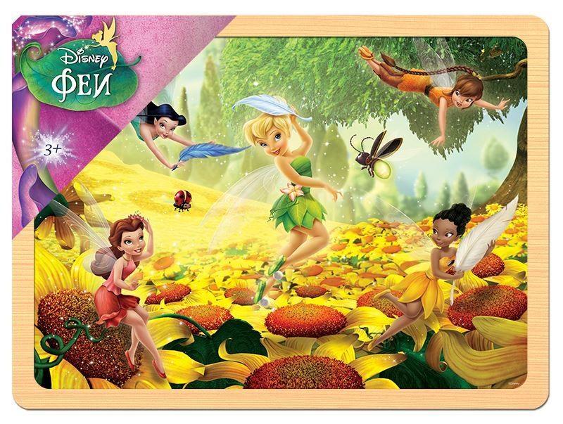 Деревянный пазл Феи Disney