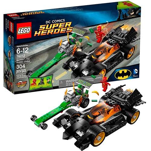 Конструктор Lego Super Heroes Погоня за Риддлером