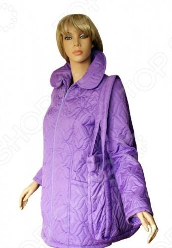 Куртка сиреневая. Размер: 46-48