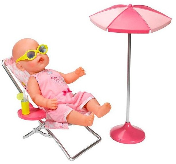 Набор Солнечные ванны для куклы BABY born от Zapf Creation
