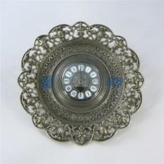 Настенные античные часы в рамке Барокко