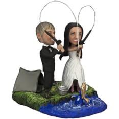 Подарок паре Свадебная рыбалка