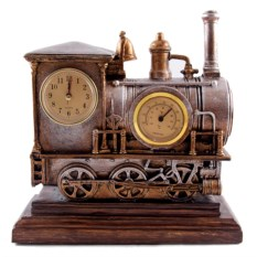 Настольные часы-термометр Паровоз