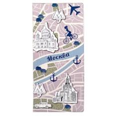 Обложка для документов путешественника Moscow