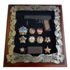 Панно ТТ с наградами Великой Отечественной Войны
