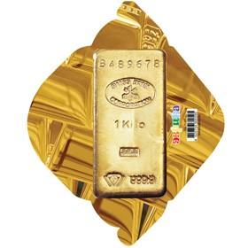 Конверт Слиток золота
