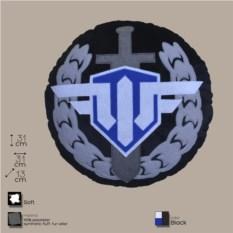 Декоративная подушка с лого игры World of Warplanes